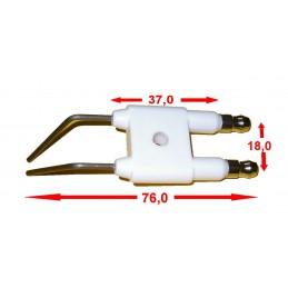 Podwójna elektroda zapłonowa do Karcher HDS